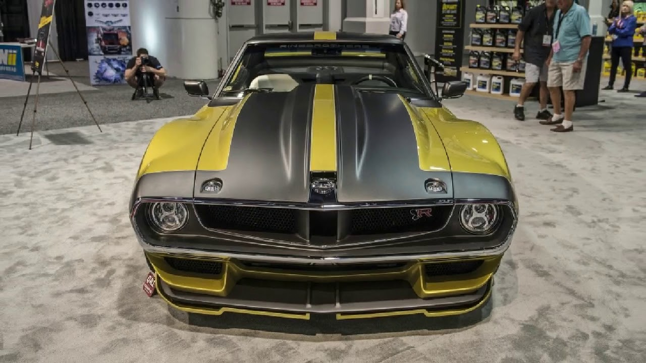 Hot News Ringbrothers 1972 Amc Javelin Amx Makes 1100 Horsepower