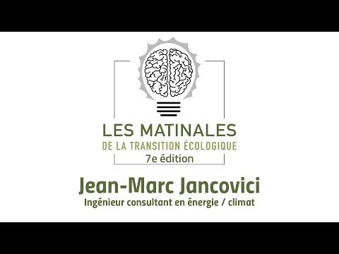 Jean-Marc Jancovici - Matinales de la Transition Écologique