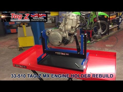 33-510 TAG-Z MOTORCYCLE & MX ENGINE HOLDER REBUILD STAND
