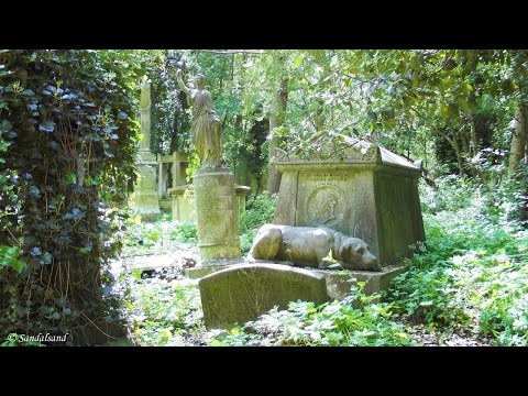 England - Highgate Cemetery in London