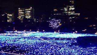 Christmas Lights at Tokyo Midtown, December 2012