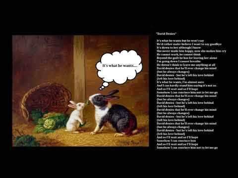ARTISTS A TO Z : 'TIL TUESDAY - DAVID DENIES