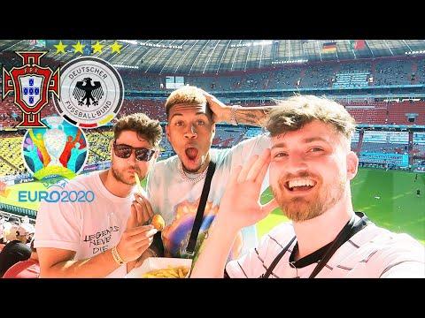 Portugal vs. Deutschland 2:4 - EM Stadionvlog 🇵🇹🇩🇪 | Cristiano Ronaldo zaubert... | ViscaBarca
