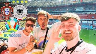 Portugal vs. Deutschland 2:4 - EM Stadionvlog 🇵🇹🇩🇪   Cristiano Ronaldo zaubert...   ViscaBarca