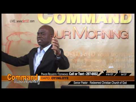 Command Your Morning - August 23, 2016