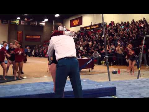Ursinus Gymnastics 2/22/15 Highlights