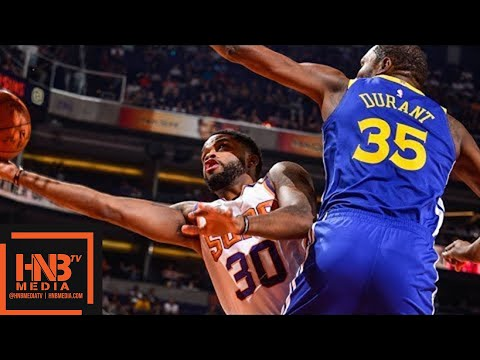 Golden State Warriors vs Phoenix Suns Full Game Highlights / April 8 / 2017-18 NBA Season