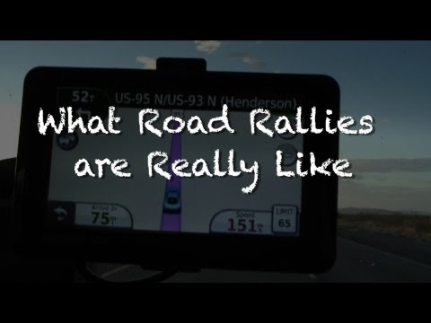What a Road Rally is Really Like