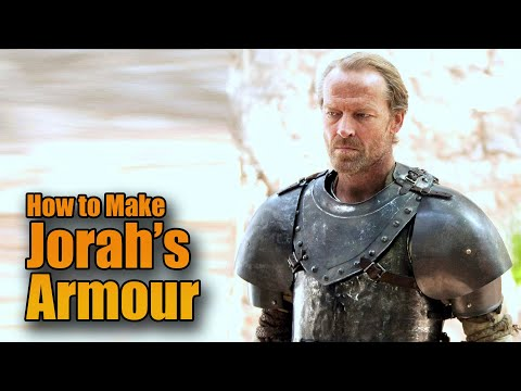 Making Movie Armor: Building Game of Thrones Jorah Mormont Armour - Chestplate Cuirass