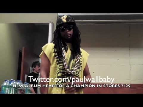 Paul Wall Does Lil Jon's new gril