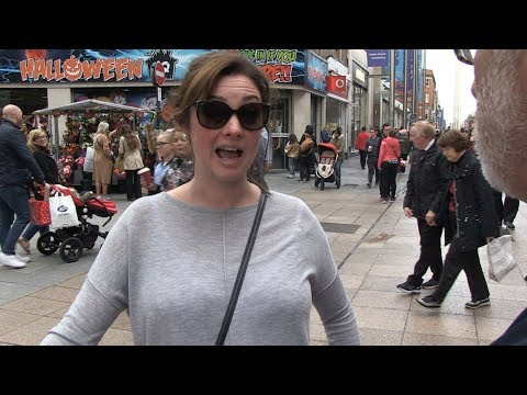 Irish Fears: which one is the biggest. Interviews on streets of Dublin, Ireland.