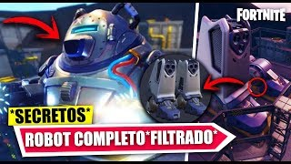 COMPLETE GIANT ROBOT *FILTRATE* FINAL SECRET EVENT ? FORTNITE BATTLE ROYALE