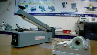 HAND IMPULSE SEALER WITH CUTTER