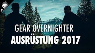 WILDCAMPING IN DEN BERGEN – Outdoor Ausrüstung 2017 für Bushcraft und Übernachten im Wald