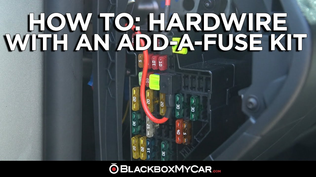 Setting Up with an Add-a-Fuse Kit | Dash Cam How To Installation Guide —  BlackboxMyCarBlackboxMyCar