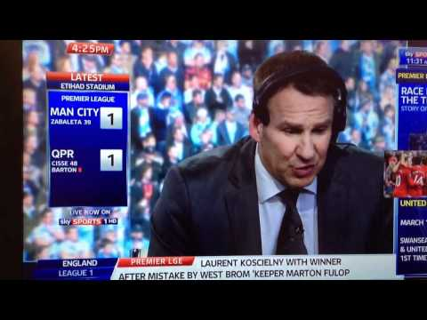 Manchester city win the league 2012 on sky sports news