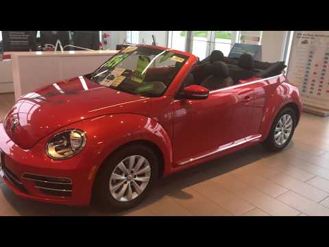Mikayla's New 2019 Volkswagen Beetle Convertible at Frank Boucher VW