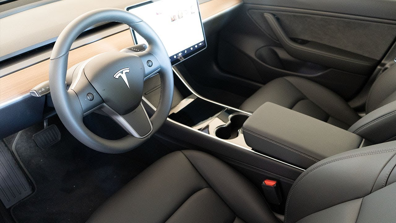 How To Clean Tesla Model 3 Interior - YouTube
