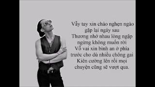 Sơn Tùng MTP - Như Ngày Hôm Qua Lyrics thumbnail