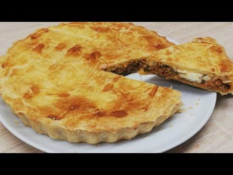tourte-feuilletÉe-au-bŒuf-hachÉ-facile-(cuisine-rapide)-✔
