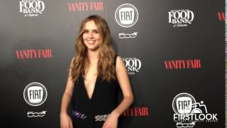 Zooey Deutch arrives at Vanity Fair and Fiat Celebrate