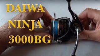 Gambar cover DIAWA NINJA BLACK GOLD - NJ3000BG FISHING REEL REVIEW