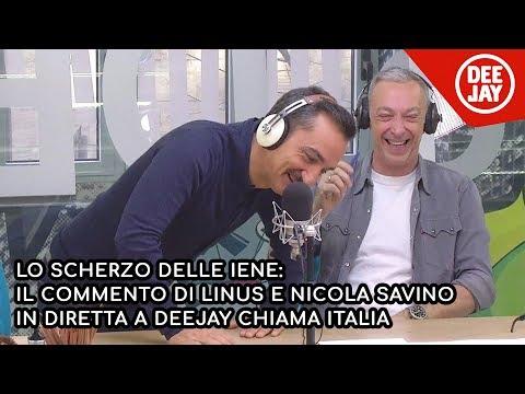 Scherzo de Le Iene a Linus: il commento a Deejay Chiama Italia