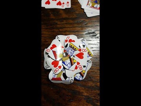 Playing Card Roses