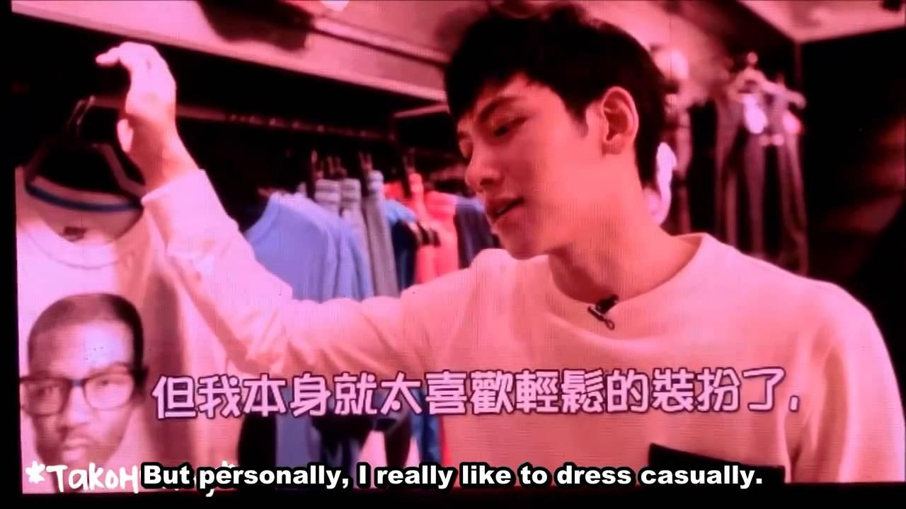 (140830) Ji Chang Wook 1st Taiwan FM - Clothes shopping