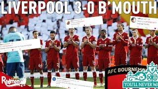 Liverpool v Bournemouth 3-0 | LFC Fan Twitter Reactions