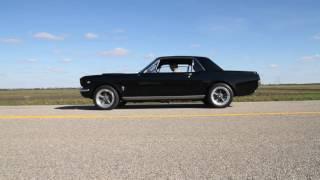1965 Mustang open headers