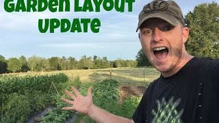 Garden Layout Update at Strong Roots Farm