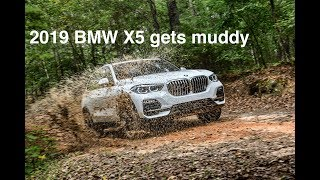 How to get the new BMW X5 dirty!