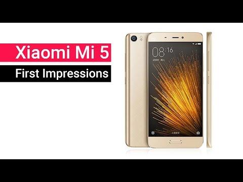 Xiaomi Mi5 First Impression