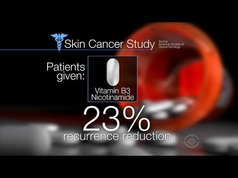 A Dose Of Vitamin B3 A Day Keeps The Skin Cancer Away Youtube