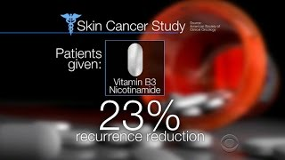 A dose of Vitamin B3 a day keeps the skin cancer away?