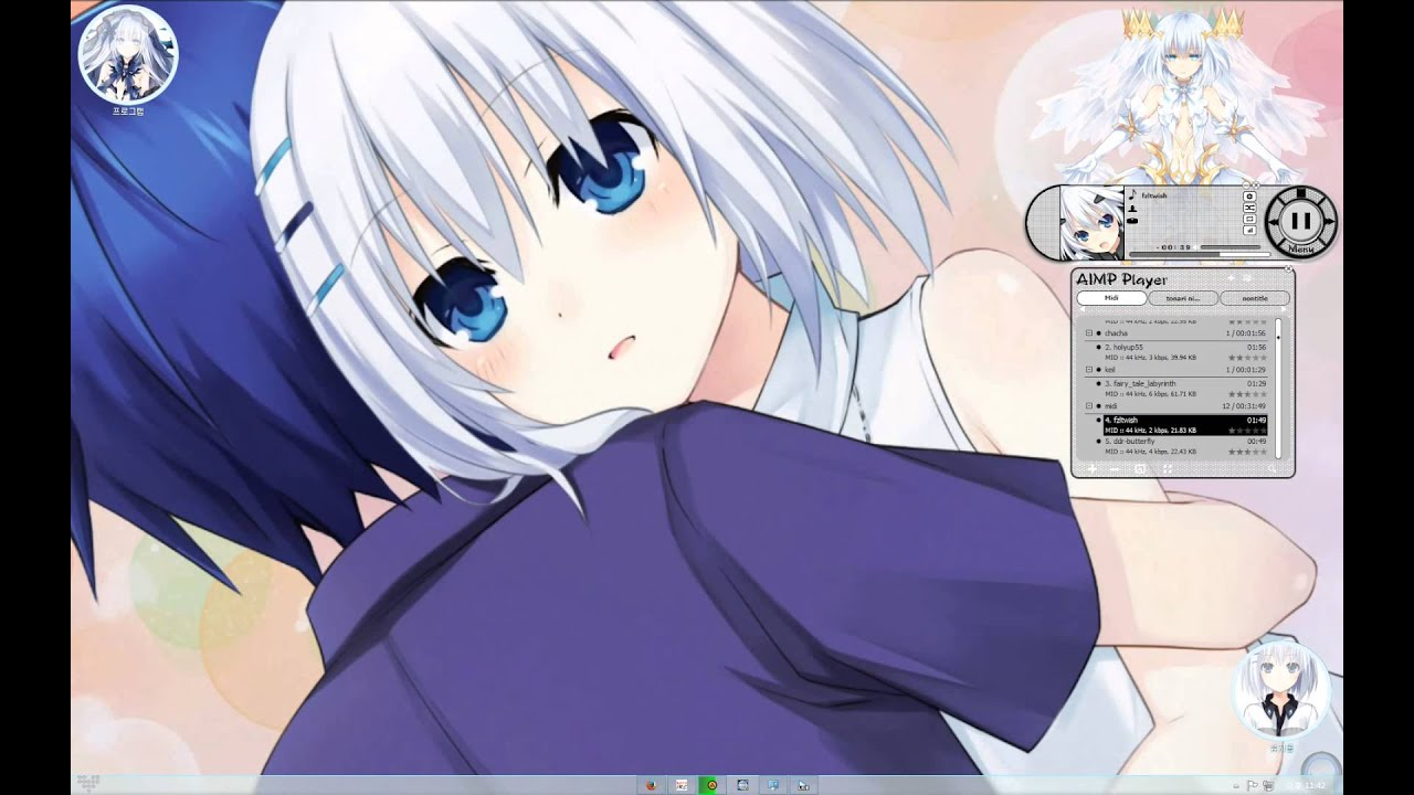 Windows DreamScene (Windows 7) - Date A Live Tobiichi ... - photo#15