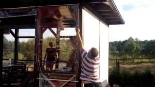 видео шторы для беседок и веранд