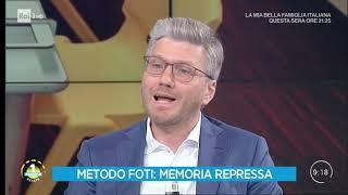 """Bibbiano: cos'è il """"metodo Foti"""" della memoria repressa - Unomattina Estate 30/07/2019"""
