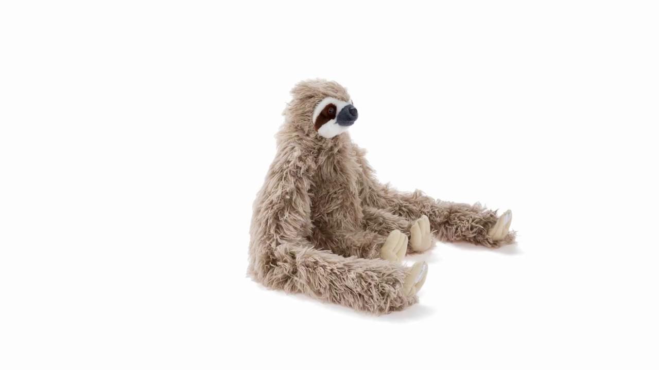 hanging sloth plush stuffed animal 360 view wild republic youtube
