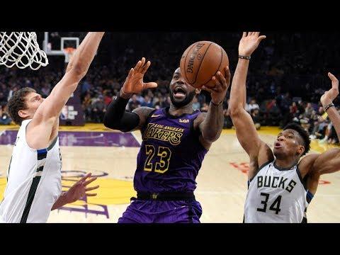 Bucks Beat Lakers! 1st Team Clinch Playoff Berth! 2018-19 NBA Season