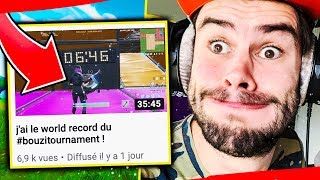 5 MOIS APRES IL BAT LE WORLD RECORD