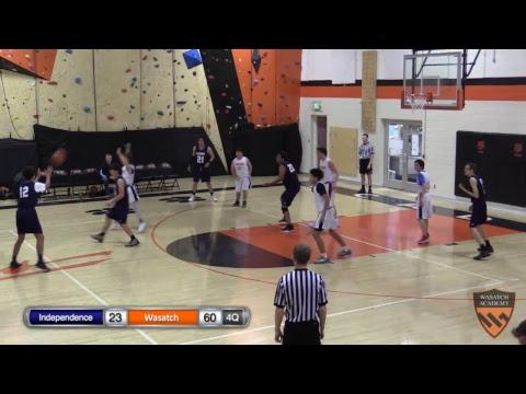 Boys D-League Basketball: Independence High School vs. Wasatch Academy