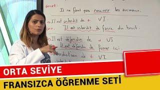 Fransızca Eğitim Seti (Orta Seviye) - 2018 (En Hızlı ve Gerçek Öğrenme Şekli)