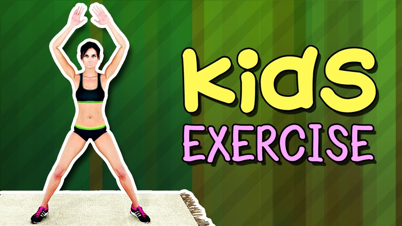 Kids Exercise Kids Workout At Home Youtube