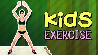 Kids Exercise   Kids Workout At Home
