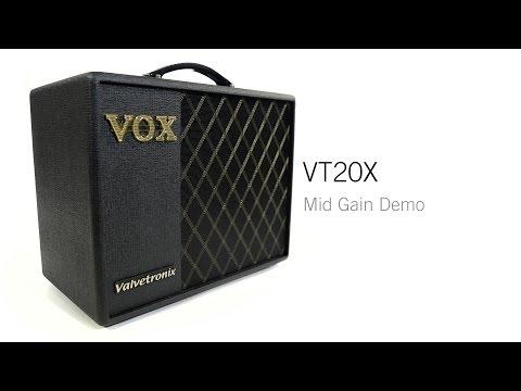 VOX Valvetronix VT20X Demo (3 of 4) – Mid Gain