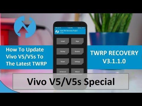 How to install latest TWRP Recovery 3.1.1 build for Vivo V5/V5s   Sunmughan Swamy