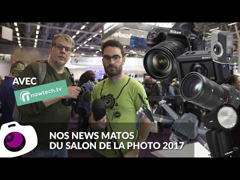 Nos coups de coeur matos du salon de la photo 2017 ? - F/1.4 S06E08