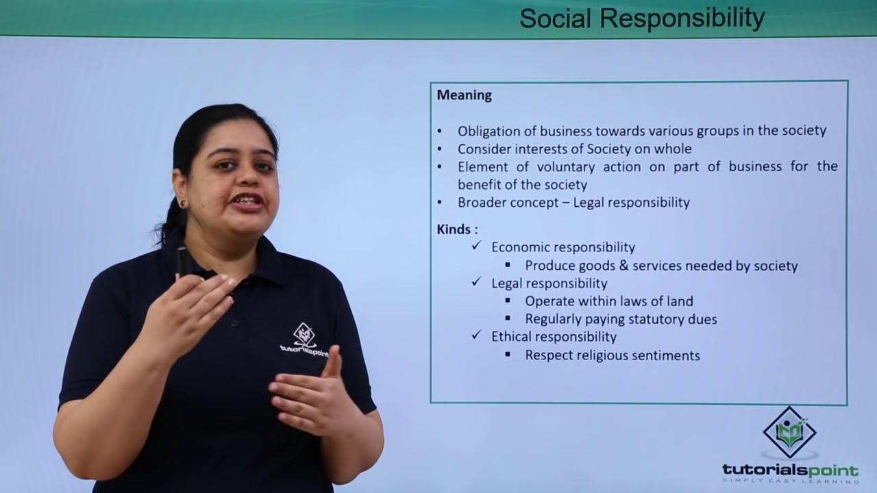 the social responsibility of business This is a digitized version of an article from the times's print archive to preserve articles as they originally appeared in print -- before the start of online publication in 1996 -- the times.